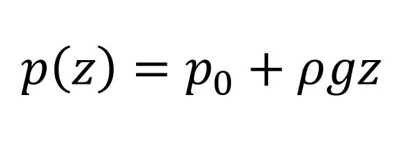 Catatan Kuliah Mekanika Fluida: Persaman Hidrsostatis dari Persamaan Navier-Stokes