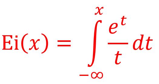Integral exponensial dalam Visual Basic : Deret Ramanujan